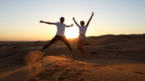 Oceanair Travels - Evening Red Dunes Desert Safari Dubai with BBQ at Al Khayma Camp