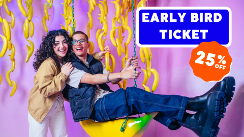 YOUSEUM | EARLY BIRD TICKET - 25% DISCOUNT