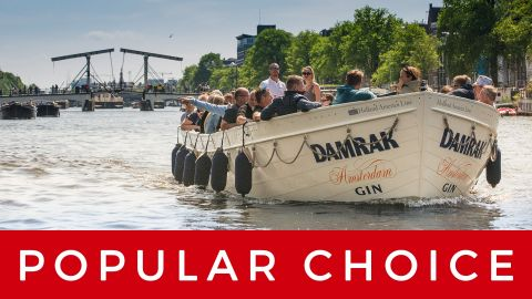 LUXURY CANAL CRUISE TICKET | €18,-