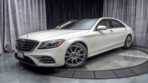 E & S Luxury Cars - Self Drive Rental: Mercedes S560